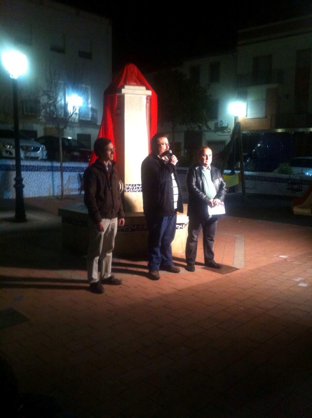 """Inauguración de la  escultura  """"Viento"""""""