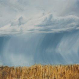_Rain fell streighter_, oil on canvas, 73 x 116 cm, Jose Antonio Ochoa
