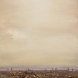 Desde Park Guell, óleo sobre tela, 81x54 cm. Jose Antonio Ochoa