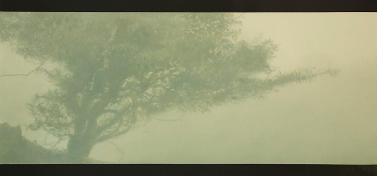 """""""El Espino"""", mención de honor en el Premio IberCaja de Pintura Joven."""