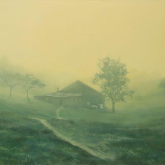 Home, oil on canvas, 97 x 130 cm. Jose Antonio Ochoa