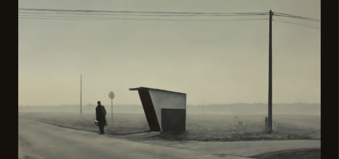 "The painting ""On the road"" has been the winner of the XXI National Painting Prize Mainel Foundation"