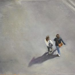 """Street view 1"", oil on paper. 20 x 30 cm. Jose Antonio Ochoa"