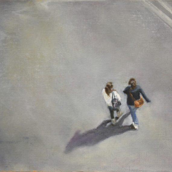 """Street view 1"", oil on paper. 20 x 30 cm. Jose Antonio Ochoa"