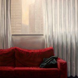 ¿Y Ahora Qué?, óleo sobre tela, 150x130 cm. Jose Antonio Ochoa
