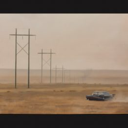 """You Got a Fast Car"", oil on polyester, 110 x 150 cm. Jose Antonio Ochoa"