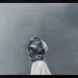 _Between tones of gray II_, oil on polyester, 50 x 70 cm, Jose Antonio Ochoa
